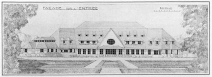 Le Club House du Golf de Saint-Cloud