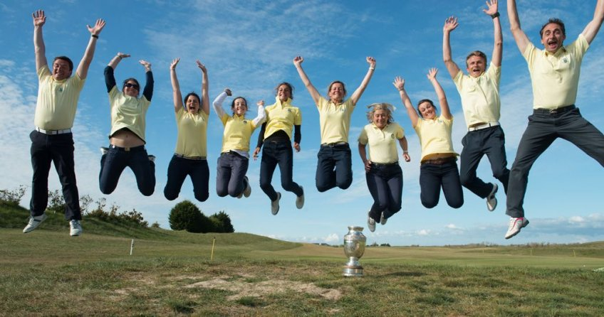 Team 1 - Golfer's Trophy: Saint-Cloud, French team champions in 2013